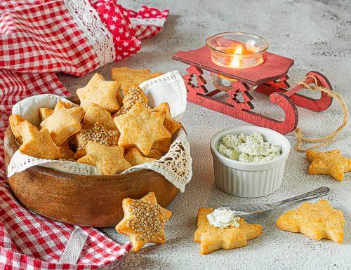 Frollini salati al formaggio