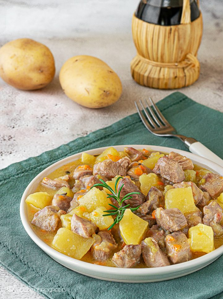 spezzatino di tacchino e patate