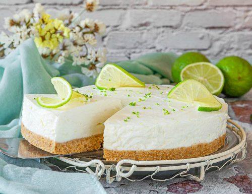 Cheesecake fredda al lime