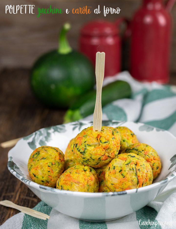 polpette zucchine e carote