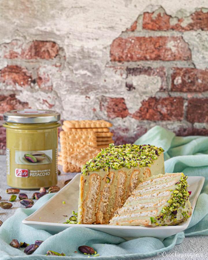 mattoncino al pistacchio
