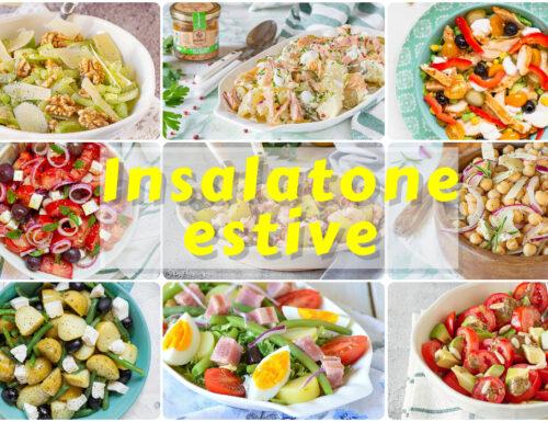 INSALATONE ESTIVE facili, veloci, fresche e gustose