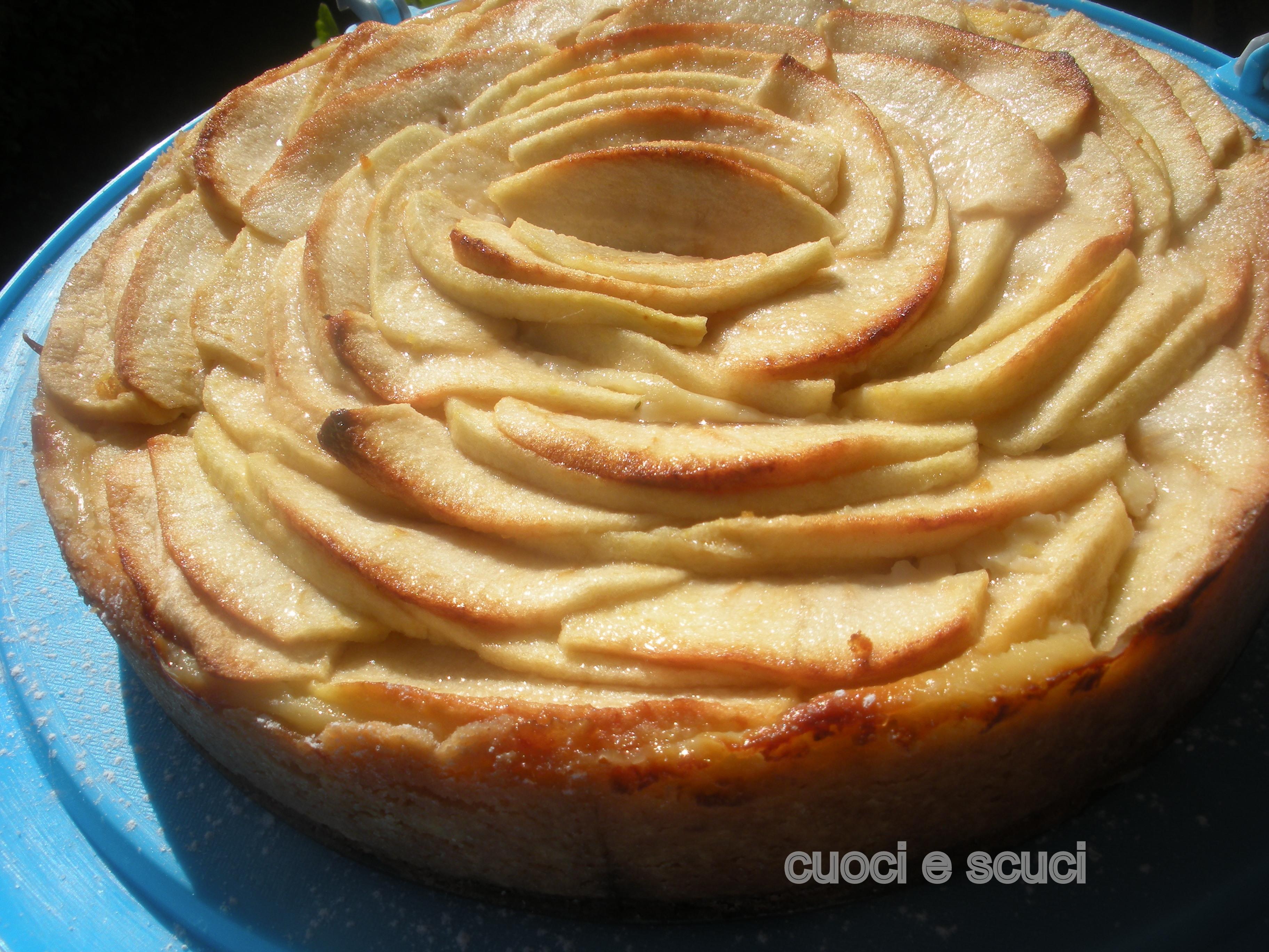 Crostata di mele e crema cuoci e scuci for Crostata di mele
