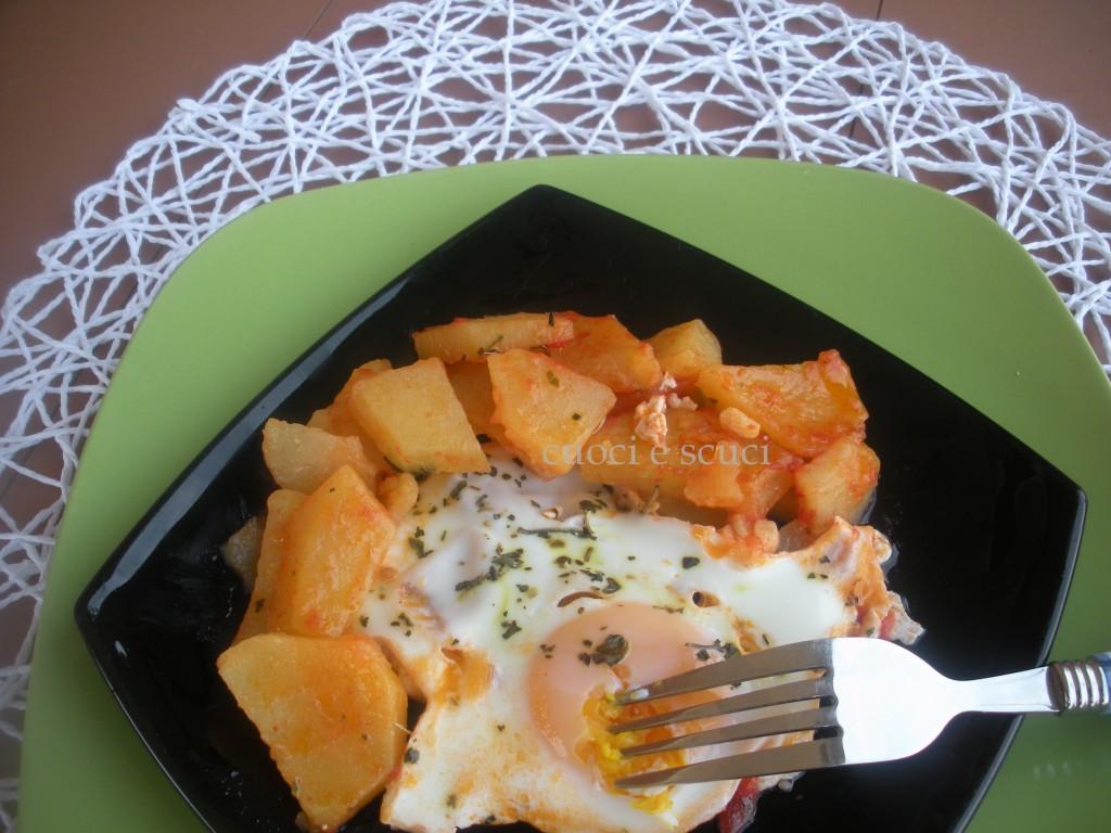 Uova con patate   Cuoci e Scuci