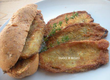 Panino con fritto sfizioso