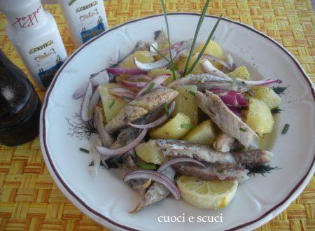 Insalata di sgombro e patate