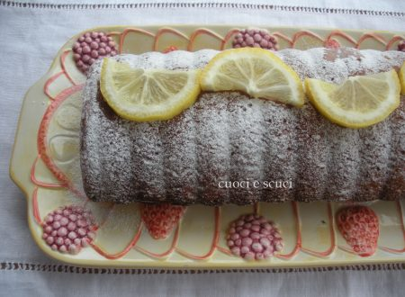 Tronchetto pan di limone