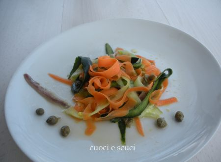 Tagliatelle vegetali