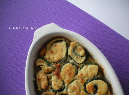 Girelle di zucchine e patate