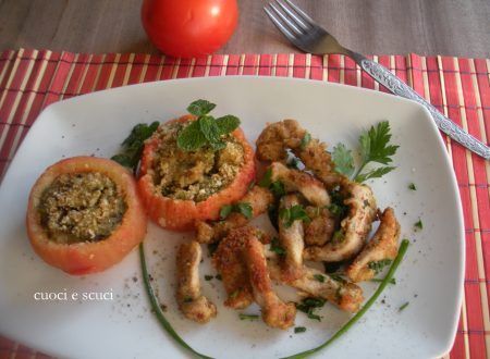 Pomodori alla pugliese con straccetti