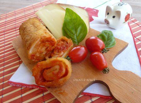 Rotolino alla pizzaiola-ricetta facile.