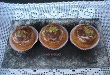 Cupcake con frosting ricotta e nutella