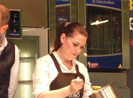 Sonia Peronaci, ospite a Cucinare. Per piacere, per mestiere