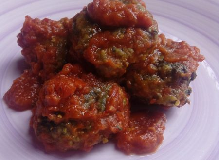 Polpette di carne e spinaci alla Giudia