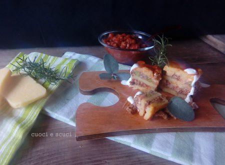 Pasticcio di polenta al ragù, ricetta sfiziosa
