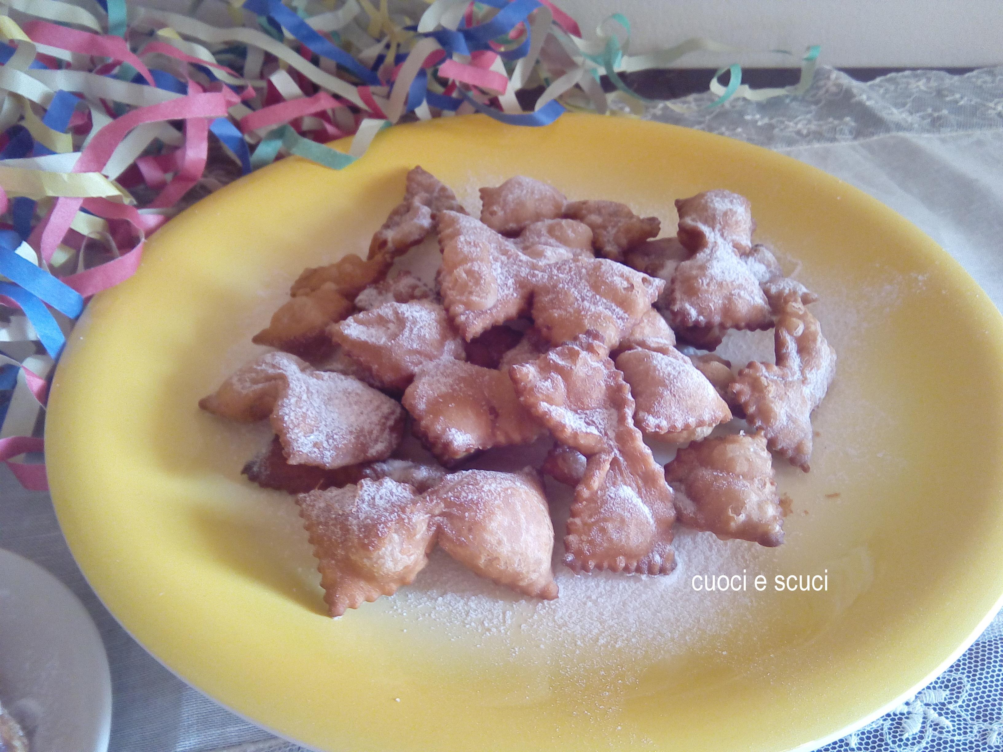 Farfalle di Carnevale-senza Uova Ne Burro