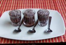 Bicchierini di tartufi al cioccolato-dolci facili