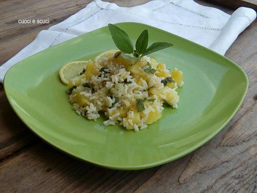 Insalata di riso con patate-ricetta aromatica