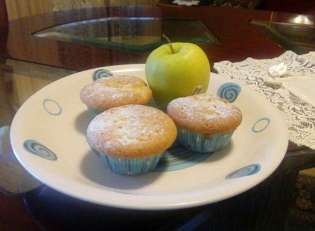 Muffins alle mele e cannella senza lattosio