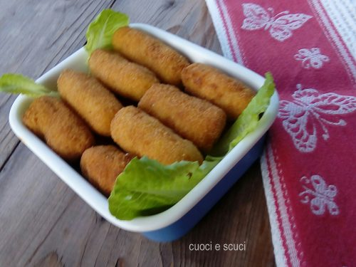 Crocchette con patate di casa mia