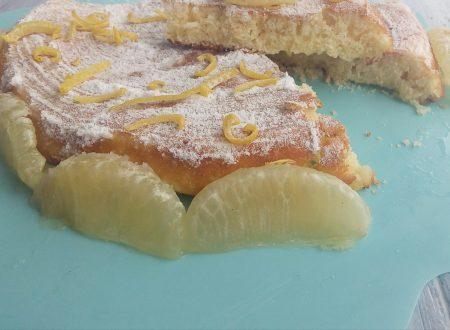 Torta con limone cotta in padella
