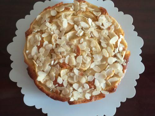Torta senza zucchero mandorlata