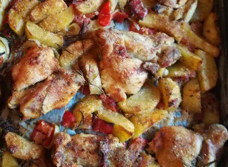 Pollo al forno sabbioso