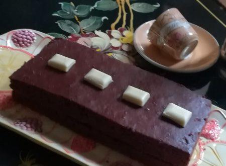 Pan di spagna al cioccolato senza uova