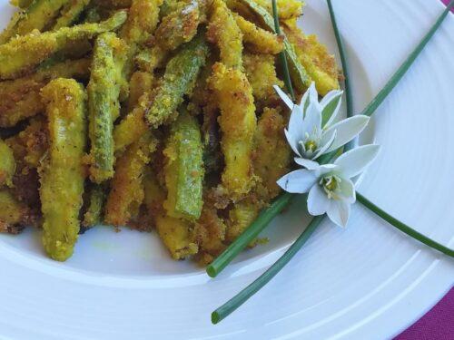 Bastoncini di zucchine al forno