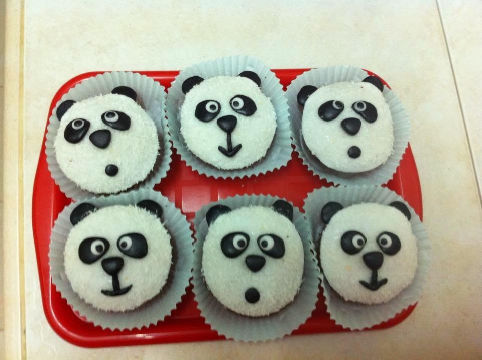 cupcakes panda