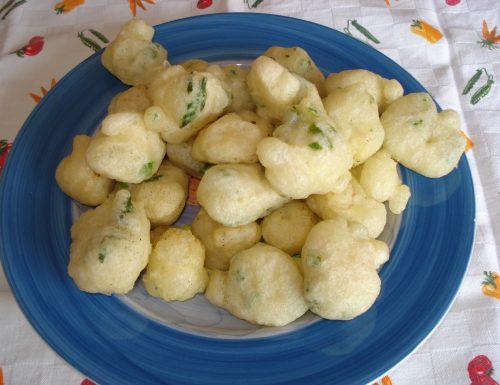 frittelle con asparagi e pancetta