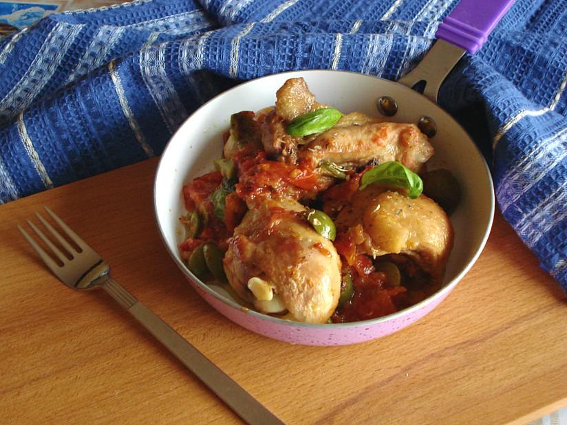 pollo al pomodoro e olive verdi new