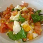 insalata di uova sode alla partenopea