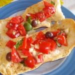 freselle con pomodoro olive e alici