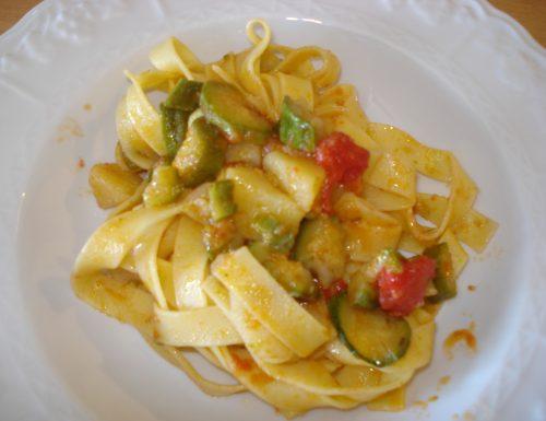 pasta con zucchine e patate