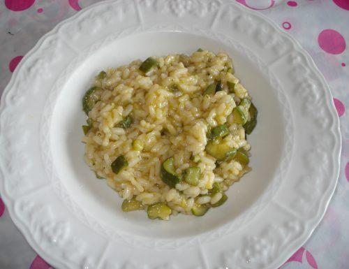 risotto alle zucchine e pecorino