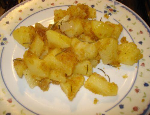teglia di patate croccanti al rosmarino