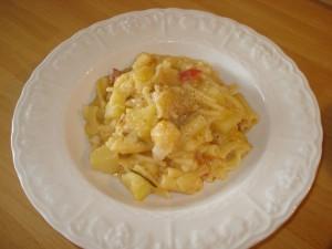 pasta con cavolfiore e patate