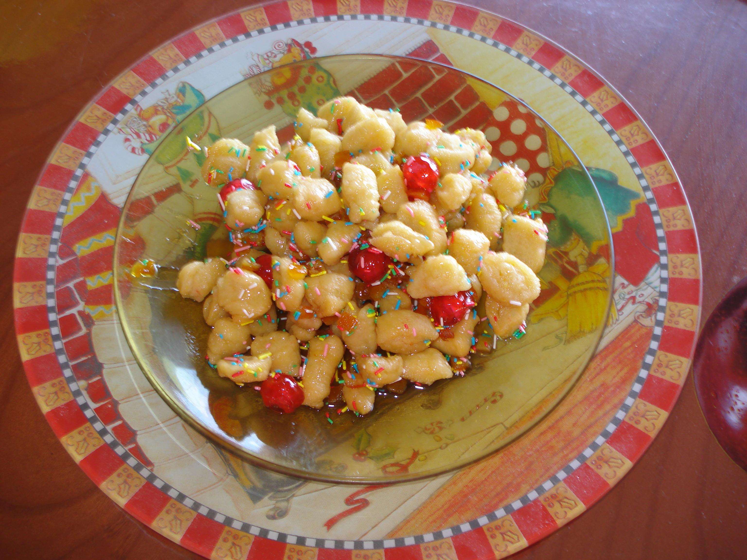 Menu pranzo di Natale tradizionale napoletano