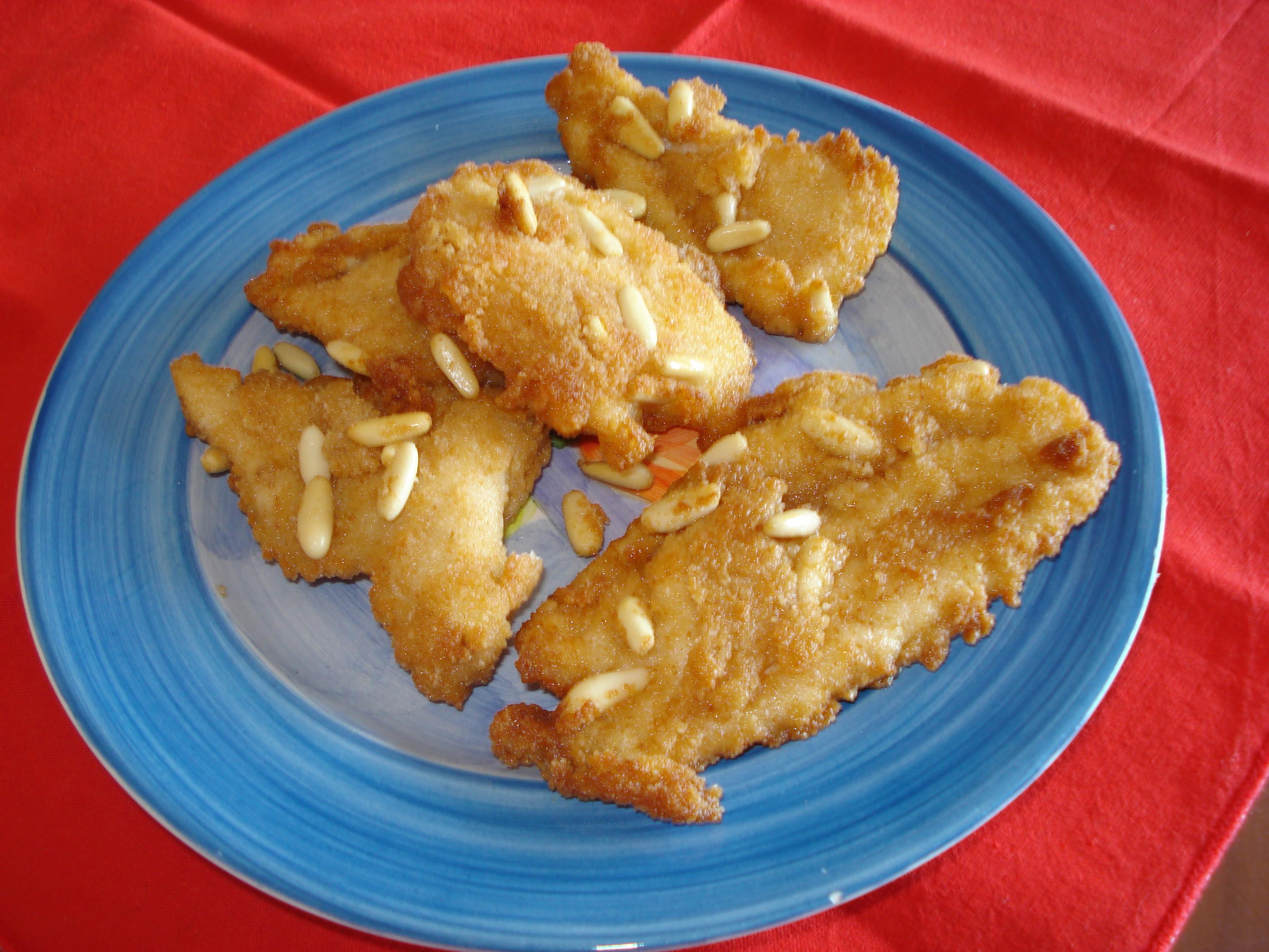 scaloppine di pollo in crosta di sesamo alla cinese