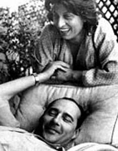 Anna Magnani e Roberto Rossellini in Costiera