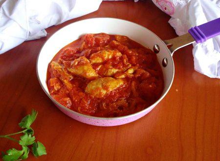 sugo rustico di pollo al pomodoro