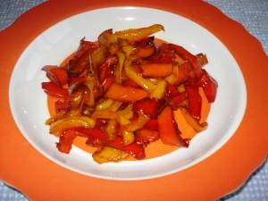 peperoni fritti in padella alla napoletana
