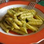 pasta al pesto di zucchine senza pinoli