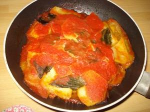 parmigiana cilentana di melanzane e patate a modo mio