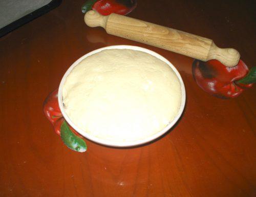 impasto per pizza con strutto