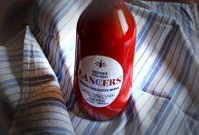 Lancers vino rosé , vintage food