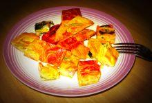 cubetti di frittata di pasta bigusto