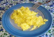 uova strapazzate – ricetta base