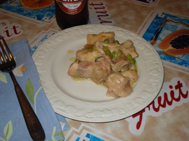 Spezzatino di pollo alla birra